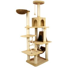 "78"" Ultra-Soft Premium Cat Tree in Golden Rod"