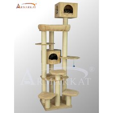 "82"" Solid Wood Cat Tree"