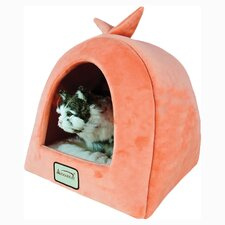 <strong>Armarkat</strong> Cat Bed in Orange and Ivory