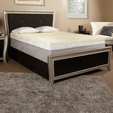 "3"" Textured Memory Foam Mattress Topper"