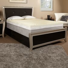 "2"" Textured Memory Foam Mattress Topper"