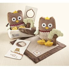 <strong>Baby Aspen</strong> ''My Little Night Owl'' 5-Piece Baby Gift Set