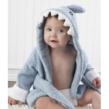 "<strong>Baby Aspen</strong> ""Let the Fin Begin"" Terry Shark Robe"
