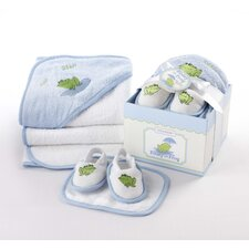<strong>Baby Aspen</strong> 4-Piece Bathtime Gift Set