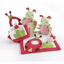<strong>Baby Aspen</strong> In the Garden 4 Piece Critter Gift Set