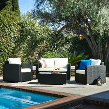 Vomo 4 Piece Deep Seating Group