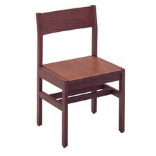 "Select Series 18"" Solid Oak Classroom Side Chair"