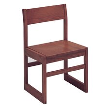 "Select Series 16"" Solid Oak Classroom Side Chair"