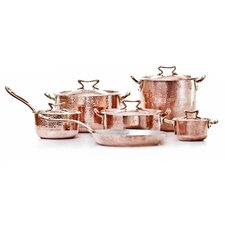 Hand-Forged Copper 11-Piece Cookware Set