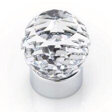 """Swarovski Crystal 2.25"""" Round Knob"""