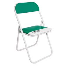 Pantone® 17-5641 Metal Folding Chair