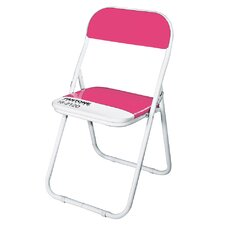 Pantone® 18-2120 Metal Folding Chair