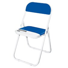 Pantone® 286 Metal Folding Chair