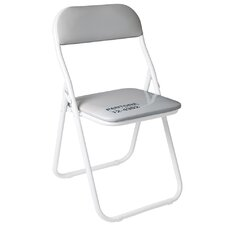 Pantone® 12-4302 Metal Folding Chair
