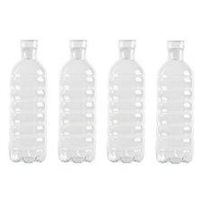 "Estetico Quotidiano 4 Piece ""Si-Bottle"" Decorative Bottle Set"