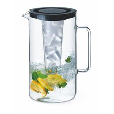 Pitcher with Plastic Ice Insert