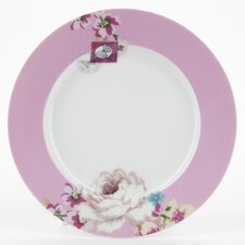 With Love 20.5cm Porcelain Breakfast Plate in Floral