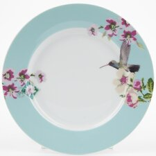 With Love 20.5cm Porcelain Breakfast Plate in Blue