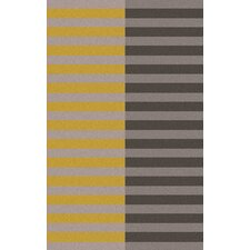 Double Stripe Dove Rug