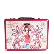 Priscilla Marina Print Laptop Briefcase