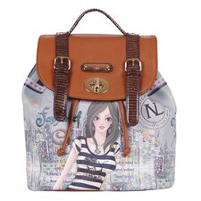 Dolly Print Backpack