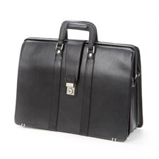 Bellino Lawyer Leather Laptop Briefcase