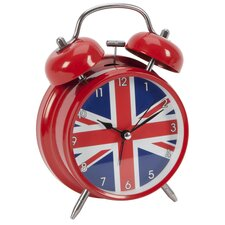 Union Jack Alarm Clock