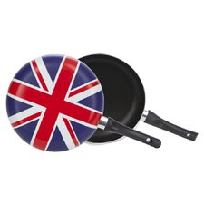 Cool Britannia Union Jack Frying Pan