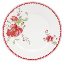 Winter Poppy 27cm Porcelain Dinner Plate in Flowers