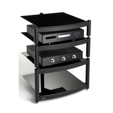 Equinox Hi Fi Celebration LE Rack with Shelves in Gloss Black