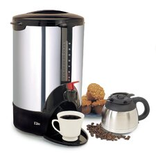 Cuisine Stainless Steel 40 Cup Coffee Brewer