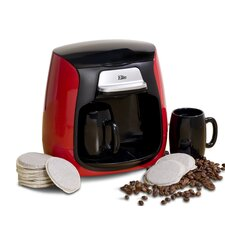 Cuisine Dual Cup Pod Coffee Maker and Tea Brewer