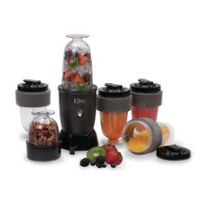 Cuisine 17 Piece Personal Drink Blender Set with Travel Cup
