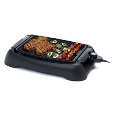 """Cuisine 13"""" Countertop Indoor Grill and Griddle"""