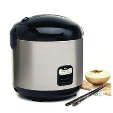 Platinum 20-Cup Stainless Steel Rice Cooker