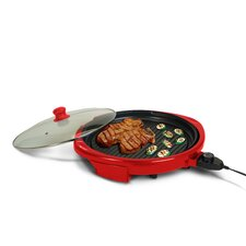"Gourmet 14"" Electric Indoor Grill with Lid"