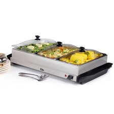 Platinum 7.5-qt. Stainless Steel Electric Buffet Server