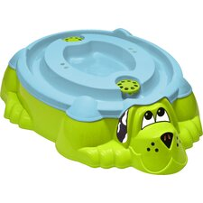 3' Dog Sand / Water Sandbox with Cover