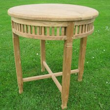 Betawi Garden Round Teak Dining Table