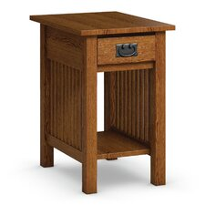 Mission Hills Chairside Table With Drawer