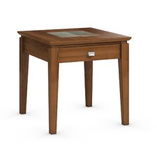 Galleon End Table with Power Station