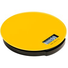 Zing Round Glass Electronic Kitchen Scale