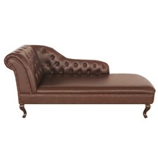 Chesterfield Left Chaise Lounge