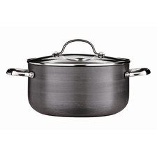Tenzo H Series 24 cm Non-Stick  Aluminium Casserole Pot with Lid