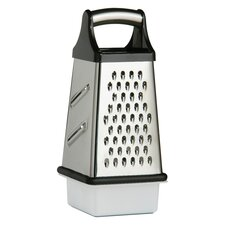 4 Sided Grater in Stainless Steel