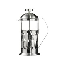 Stainless Steel Peru Cafetiere in Brushed