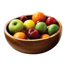 Acacia 25cm Wood Fruit and Salad Bowl