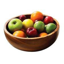 Acacia Wood Fruit Bowl