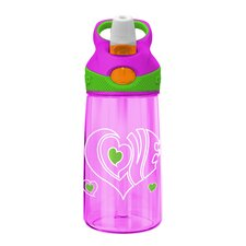 <strong>Premier Housewares</strong> Contigo Kids Striker 8cm Autospout Mug in Love Pink