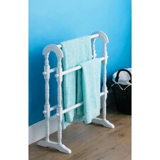 72 cm Towel Rail in White